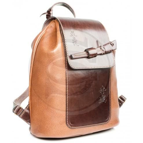 """Женский кожаный рюкзак """"Гейша"""""""