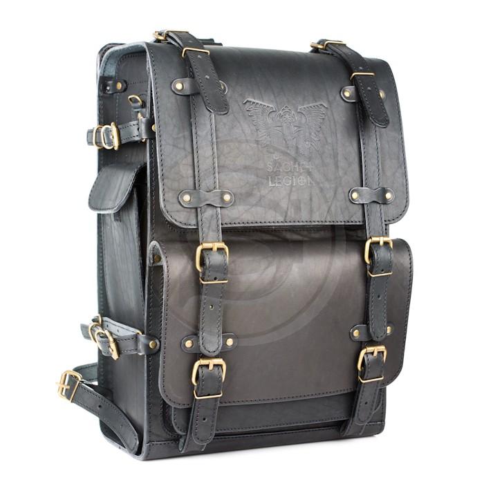 Кожаный рюкзак мужской легион рюкзак капля дискавери