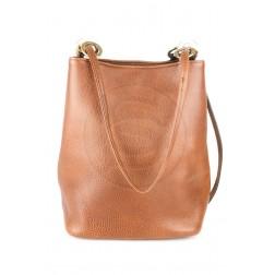 Кожаная сумка Chloe (коричневая)