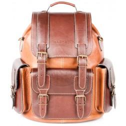 Кожаный рюкзак Relax (коричневый)