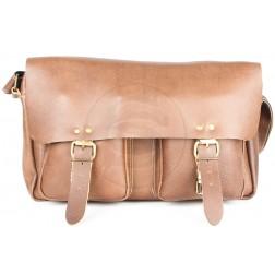 Кожаная сумка Dendy (коричневая)