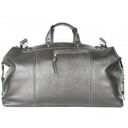 Кожаная дорожная сумка Big (чёрная)