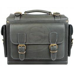 Кожаный портфель Boyscout (чёрный)