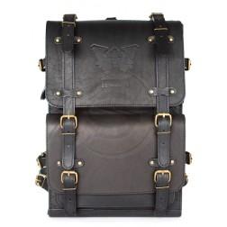 Кожаный рюкзак Legion (черный)