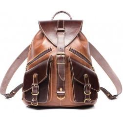 Кожаный рюкзак Pilot (коричневый)