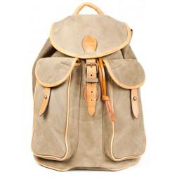 Кожаный рюкзак Cruiz (песочный)
