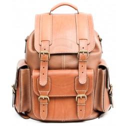 Кожаный рюкзак Relax (светло-коричневый)
