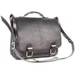 Кожаный портфель Sorbonna (чёрный)