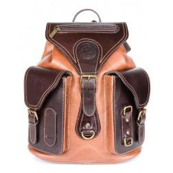 Кожаный рюкзак Style-1 (коричневый)