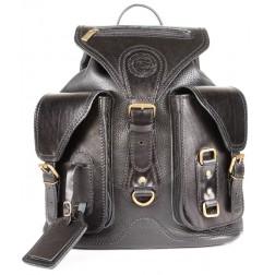 Кожаный рюкзак Style-1 (черный)