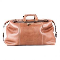 Кожаная дорожная сумка Big (коричневая)