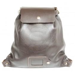 Кожаный рюкзак Military (коричневый)