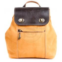 Кожаный рюкзак Palermo (желтый)