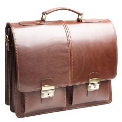 Кожаный портфель Advokat-1 (коричневый)