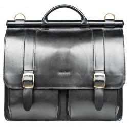 Кожаный портфель Prefect (черный)
