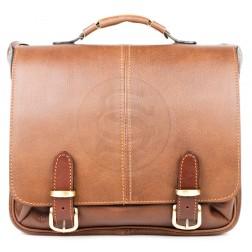 Кожаный портфель Sorbonna (коричневый)