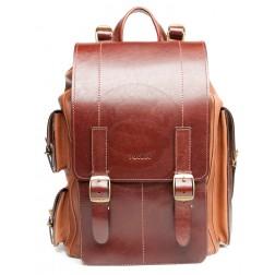 Кожаный рюкзак Следопыт (коричневый)