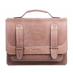 Кожаный портфель Frenchmen (коричневый)