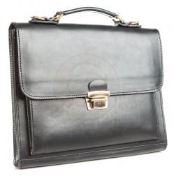 Кожаный портфель Mini (чёрный)