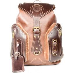 Кожаный рюкзак Style-2 (коричневый)