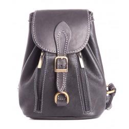 Кожаный рюкзак Kolibri (черный)