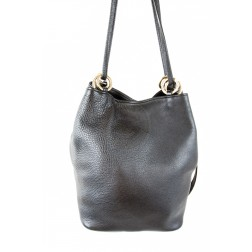 Кожаная сумка Chloe (черная)