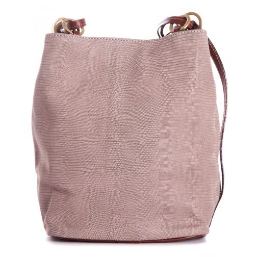 5dda3e55b236 Кожаная сумка Chloe (светло-серая)